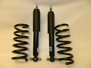 New OEM 2015-2017 Ford Mustang Rear Left & Right Side Shocks Set w/ Coil Springs