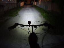 SUPER BRIGHT 10 WATT LED HEADLIGHT, 12V Mini-Gen & Switch for Motorized Bikes