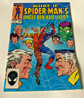 What If #46 Vinage 1977 Series Marvel Comic Spider-Man Uncle Ben Green Goblin