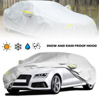 Coche Cubierta Universal 100% Impermeable Anti-nieve Anti-viento 4.15*1.7*1.5m