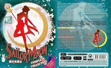 SAILOR MOON (SEASON 1-6) - COMPLETE ANIME TV SERIES (VOL.1-226 EPIS + 3 MOVIES)