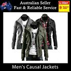 Mens Jacket Men Casual Military Jacket coat SEXY SLIM FIT - 800+ SOLD