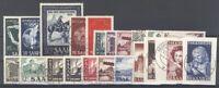 Saarland Mi.Nr. 314-40, Jahrgang 1952 gestempelt (27446)