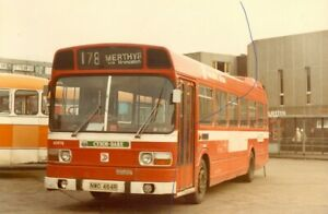 BUS PHOTO NATIONAL WELSH LEYLAND NATIONAL PHOTOGRAPH N3976 PICTURE NDW484R 1982.