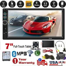 7 Inch 1080P DOUBLE 2DIN Car MP5 Player BT Tou+ch Screen Stereo Radio HD HU