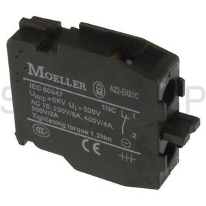 New In Box EATON MOELLER A22-EK01C Switch Contact