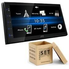 JVC KW-M25BT Media Receiver Bluetooth USB für Ford Focus II 2004-2008 schwarz