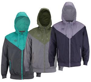 Umbro Men's Full Zip Lightweight Woven Jacket, Color Options