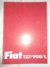 Fiat 127/900/L brochure Feb 1981 German text