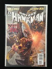 B34, Comic DC, # 3, The Savage Hawkman Death Rules The Skies