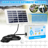 Solar Automatic Water Device Drip Irrigation System Garden Tools Watering  **%