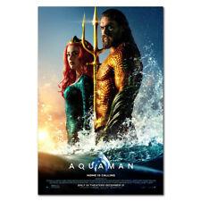 Aquaman Movie Silk Poster Art wall Prints 24X36 inch