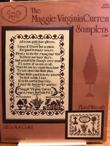 The Maggie Virginia Curren Samplers Pattern By Cross My Heart All Is Not Gold