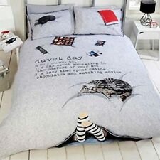 Just Contempo Novelty Polycotton Bedding Sets & Duvet Covers
