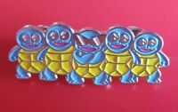 Pokemon Shiny Squirtle Pin Enamel Metal Brooch Lapel Badge Cosplay Gift Gaming
