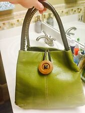 Systyle Leather Handbag New Green Purse!