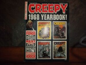 Creepy Magazine-1968 Yearbook  VF