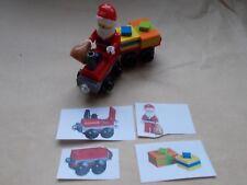LEGO CITY CHRISTMAS SCENE SANTA'S RED DELIVERY TRAIN & TRUCK, SANTA , PRESENTS