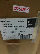 Hyster Seat Bottom Cloth Cushion Lot Of 3 1382114 Nib