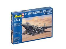 REVELL F-15E Strike Eagle & Bombs 1/144 Plastic Model Kit (R03972)
