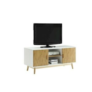 Convenience Concepts Oslo TV Stand, White - 205035