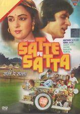 SATTE PE SATTA BOLLYWOOD DVD - Amitabh Bachchan & Hema Malini.
