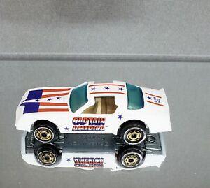 Hot Wheels 1977 The Heroes Captain America Hot Ones VHTF Tan interior Restored