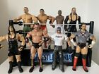 WWE Wrestling Figures Bundle Job lot Jakks X 8 WWF
