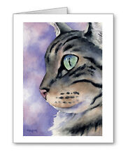 TABBY CAT Set of 10 Note Cards With Envelopes