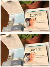 Lot of 4 Curel Facial Lotion and Facial Cream  - Travel Size Sets - NEW
