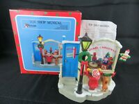 Christmas Around the World Musical Animated TOY SHOP plays Toy Land has Box 1990