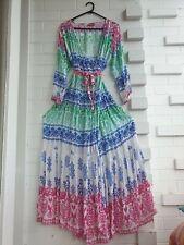 Ruby Yaya Dress Gypsy Boho Maxi WRAP. Size L. NEW WITHOUT TAGS RRP $129.00