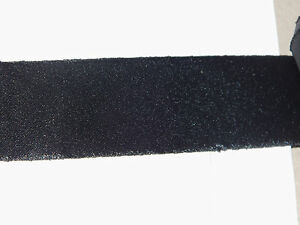 3m Schrägband Satin ungefalzt schwarz 32mm Satinband Einfassband Sa/o 24