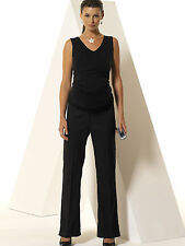Bootcut Polyester Maternity Trousers