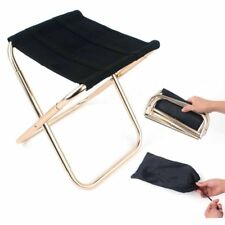 Portable Folding Camping Stool Slacker Chair for Camping Fishing with Carry Bag
