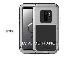 Coque antichoc et etanche SAMSUNG Galaxy S9 plus  - LOVE MEI FRANCE - Gris