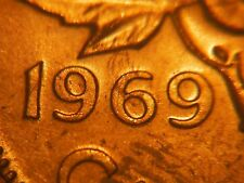Double Date **** 1969 One Cent **** Choice BU