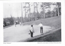 """""""Sand-""""Green"""" (Putting/way it used to be) *Augusta/Aiken Golf  {Postcard} (#163)"""