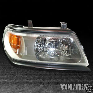 2000-2004 Mitsubishi Montero Sport Headlight Lamp Clear lens Halogen Right