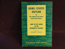 How to get Ahead in the Automotive Business prepared by William H. Crouse (1956)