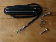 Artec Hot Rail Blade F. Strat PU sba73c-bk Alnico V Black Chrome RAILS Bucker 11k