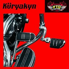 "Kuryakyn Longhorn Offset Highway Pegs for 1-1/2"" Engine Guards or Tubing 7555"