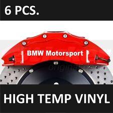 BMW Motorsport Brake Caliper Decals Stickers Emblem Logo