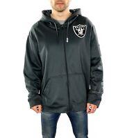 Men's Nike NFL Raiders Zip Up Hoodie In Greg  Size XL