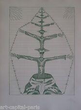 JOAN PONC GRAVURE 1971 SIGNÉ AU CRAYON NUM/XXX HANDSIGNED NUMB/XXX ETCHING