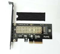 PCI-E x4 Adapter Card With Heatsink for M.2 NVMe SSD SM961 SM951 970Pro 970EVO