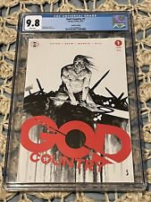 God Country 1 4th Print White Variant CGC 9.8 2017 New Case, Donny Cates Shaw