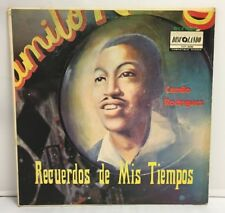 Camilo Rodríguez – Recuerdos De Mis Tiempos Vinyl LPT 1029