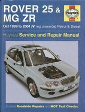 ROVER 25 & MG ZR 1.1 1.4 1.6 & 1.8 PETROL 2.0 DIESEL 1999-2004 REPAIR MANUAL