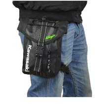 Motorcycle Leg Bag / Travel Bag Black - Kawasaki Ninja Logo